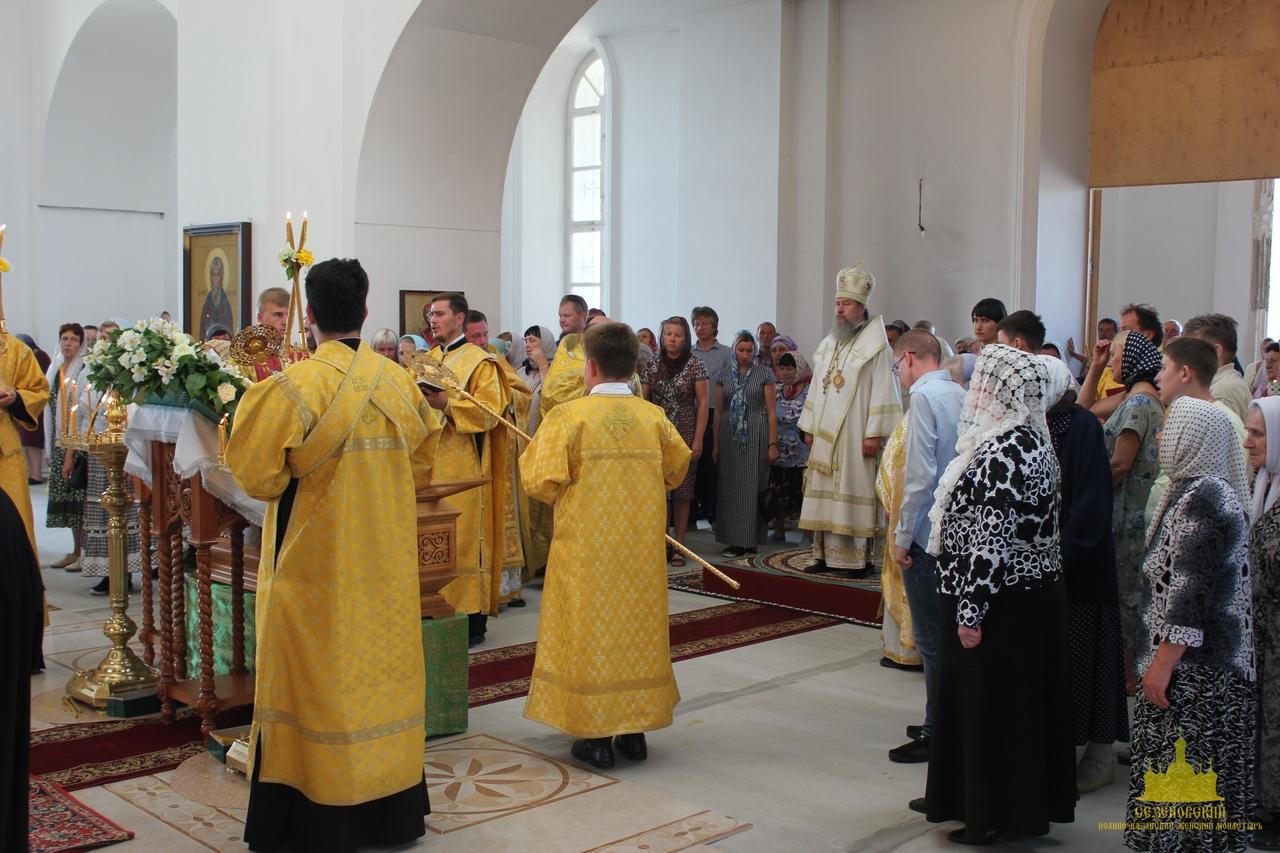 Торжества в Сезёновском монастыре 7 июля