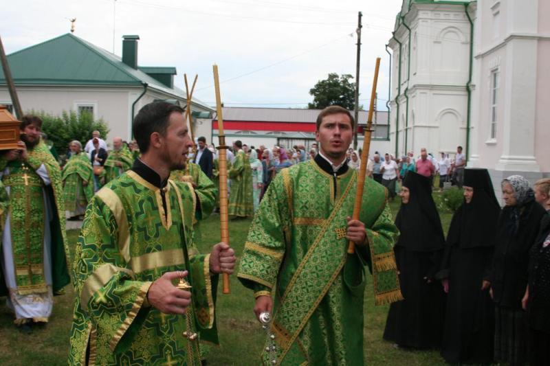 Праздничное богослужение в Троекуровском монастыре 13 июля