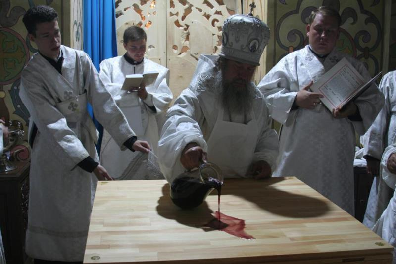 Освящение Старо-Казанского собора