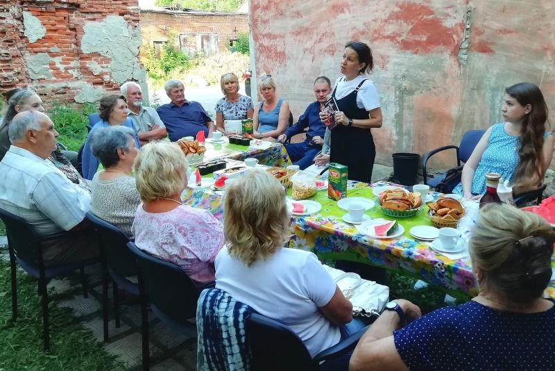 Татьяна Щеглова в День малой родины в Лебедяни