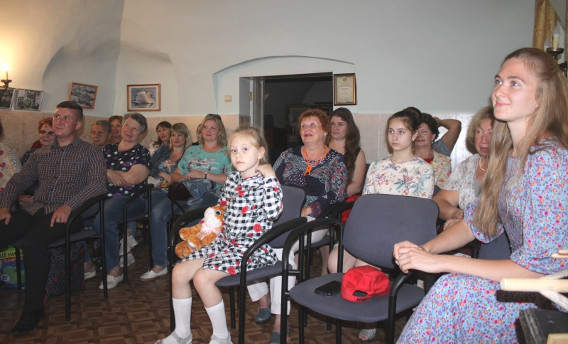 Встреча творческой молодежи в Доме Игумновых в августе 2020 года