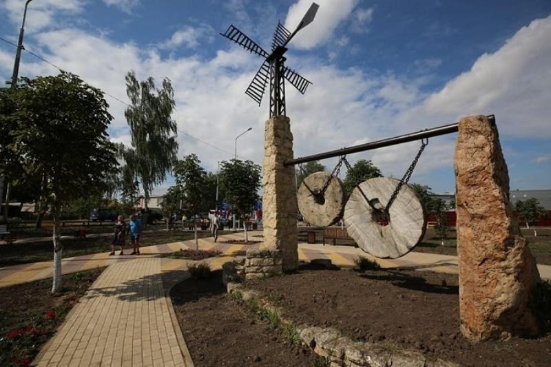 Открытие сквера у Кузнецкого пруда