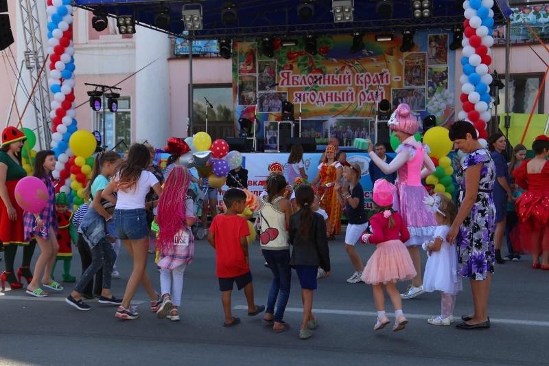 """Фестиваль """"Яблочный край, ягодный рай"""" в Лебедяни в 2020"""