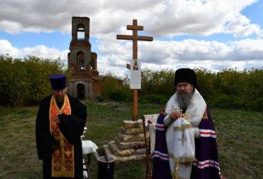 Поклонный крест в Тютчево