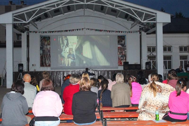 Фестиваль уличного кино в Лебедяни