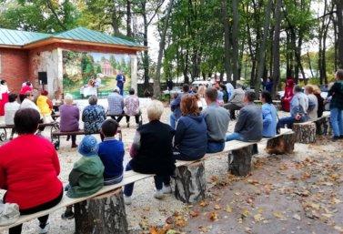 Старый парк приглашает. Концерт в Троекурово