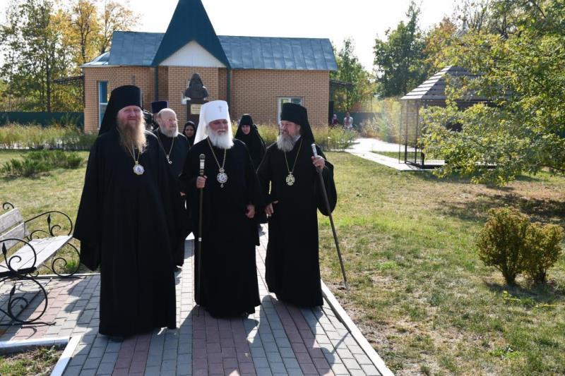 торжества на родине Силуана Афонского в селе Шовское (2020)
