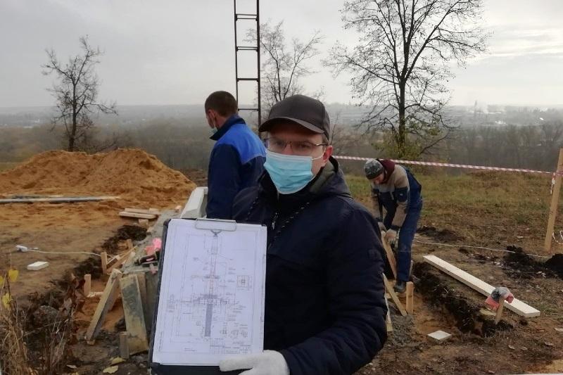 работы по изготовлению памятника лебедянцам-солдатам Первой мировой