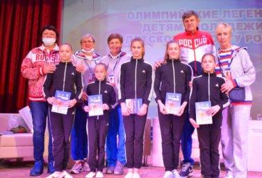 Олимпийские чемпионы посетили Лебедянь