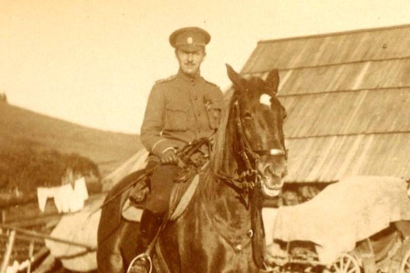 Е.А. Шиловский на фронте Первой мировой войны