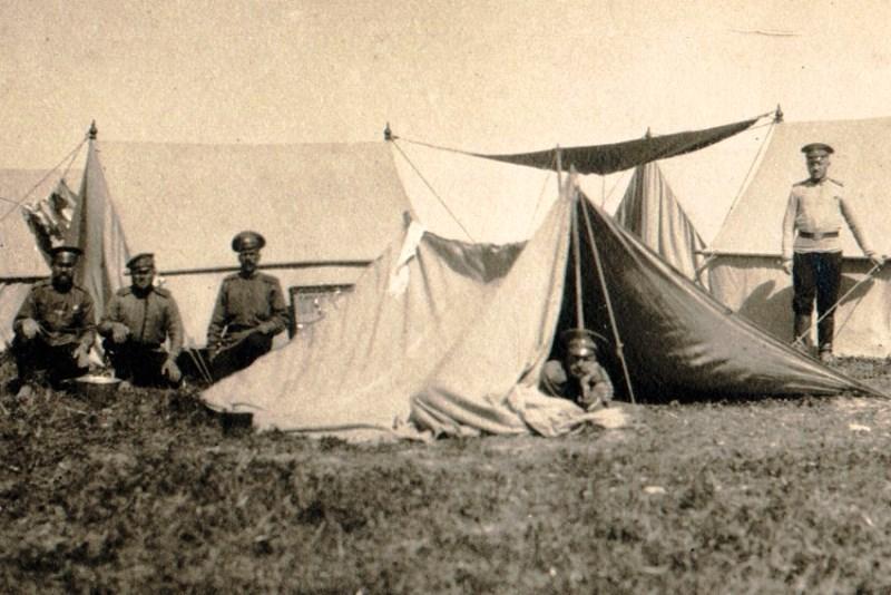 Первая мировая. Фото Е.А. Шиловского