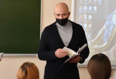 Игорь Артамонов в Лебедяни 2 декабря 2020 года