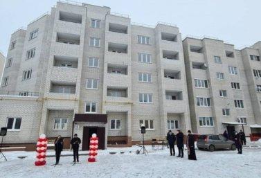 новостройка на Школьной улице в Лебедяни