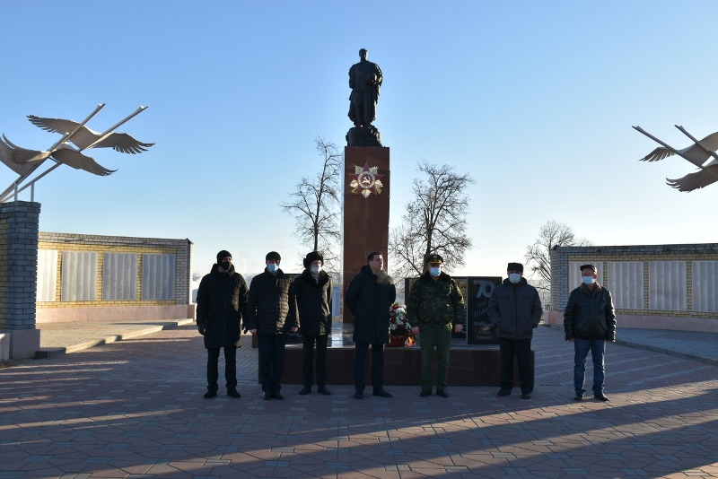 митинг в День Героев Отечества 9 декабря в Лебедяни