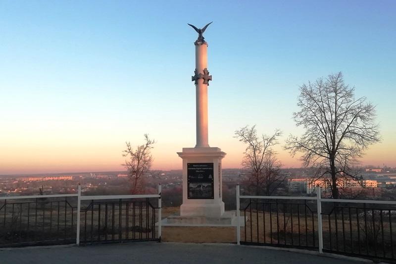 В городе Лебедянь открыли памятник воинам Первой мировой войны