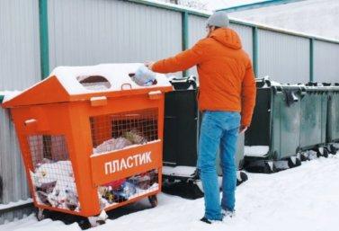В Лебедяни установили контейнеры для раздельного сбора мусора