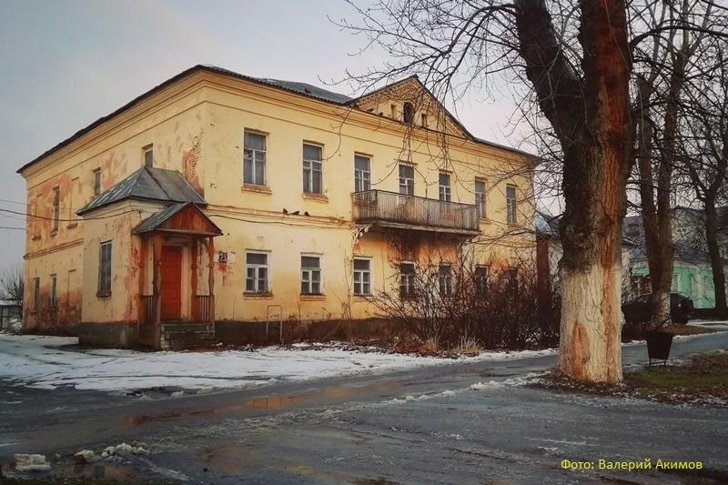 Дом Дурасова в г. Лебедянь
