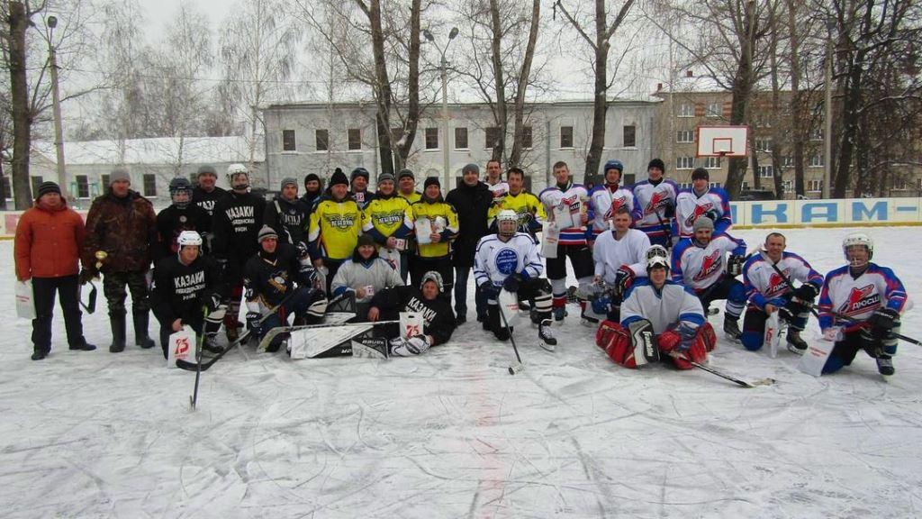 хоккейный турнир на кубок главы Лебедянского района