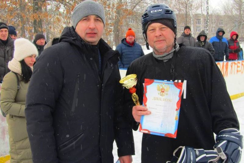 Победители хоккейного турнира на кубок главы Лебедянского района