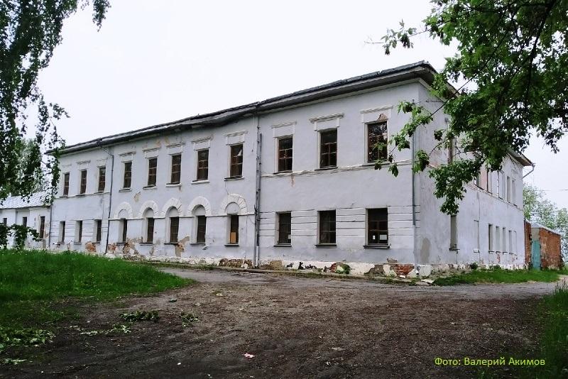 Здание присутственных мест в г. Лебедянь