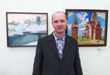 В Липецке открылась выставка картин Петра Космакова