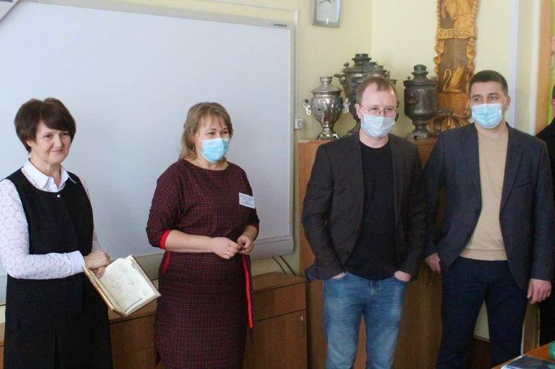 СОШ 2 Лебедяни посетили представители областной администрации