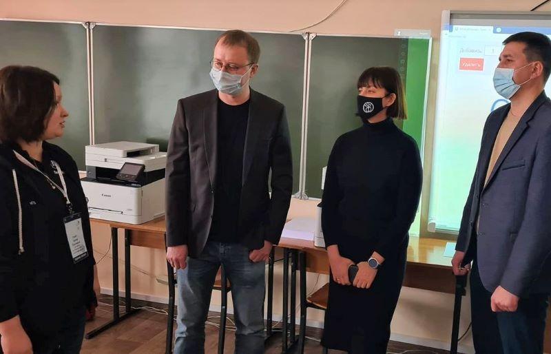 Лебедянский педколледж посетили представители областной администрации