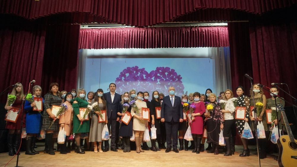 Праздничный концерт, посвященный Международномуженскому дню, в Лебедяни (2021)
