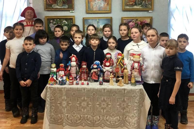 День кукольника в Доме ремесел Лебедяни