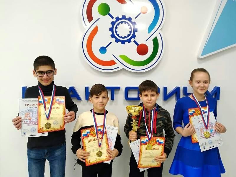Юные шахматисты из СШ 2 победили в региональном этапе турнира Белая ладья