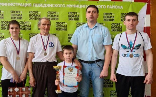 Победители семейного фестиваля ГТО в Лебедяни