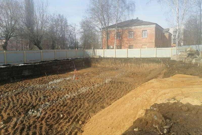 Строительство многоквартирных домов на улице Машиностроителей в Лебедяни