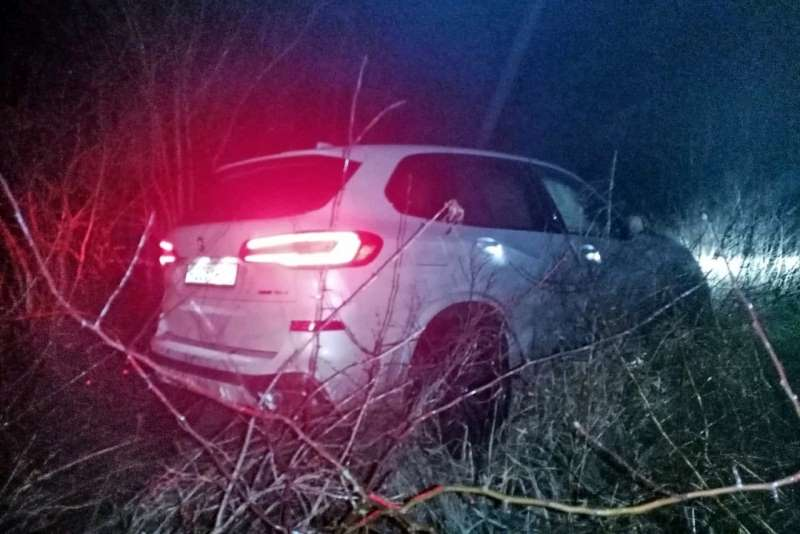 Авария BMW X5