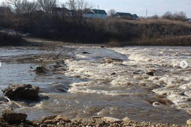 Половодье на реке Дон в Черепяни