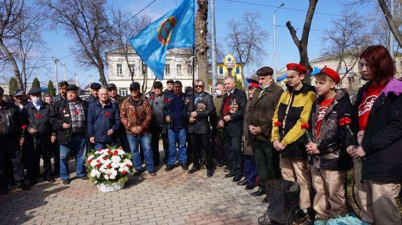 26 апреля в Лебедяни прошел митинг в память ликвидаторов последствий аварии на Чернобыльской АЭС