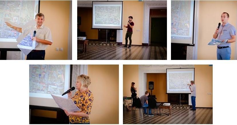 Общественные слушания по концепции благоустройства центра Лебедяни