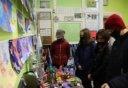 Космическая выставка детских рисунков и поделок в Лебедяни