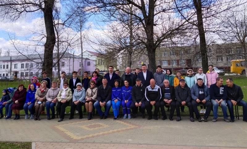 работники Скорой помощи Лебедянской ЦРБ