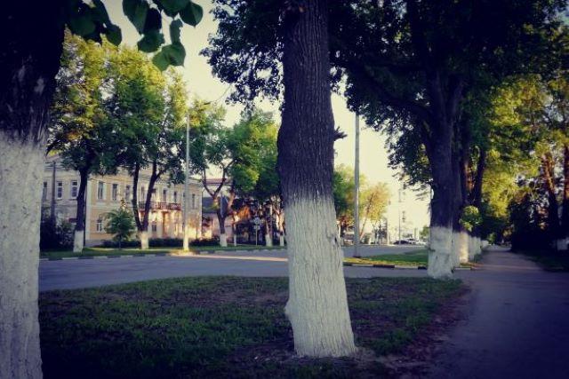 Советская улица в г. Лебедянь