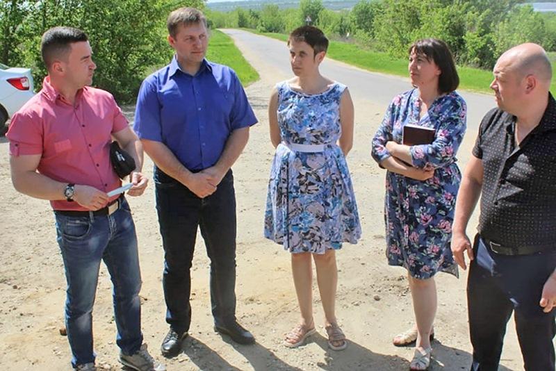 Рабочая встреча по вопросу расчистки реки Красивая Меча в с. Троекурово
