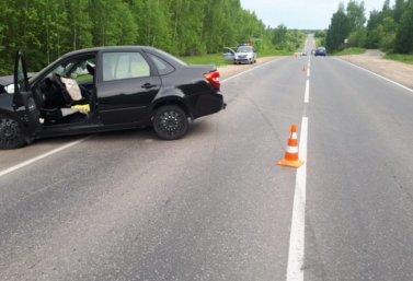 ДТП на Липецкой трассе 23 мая 2021 года