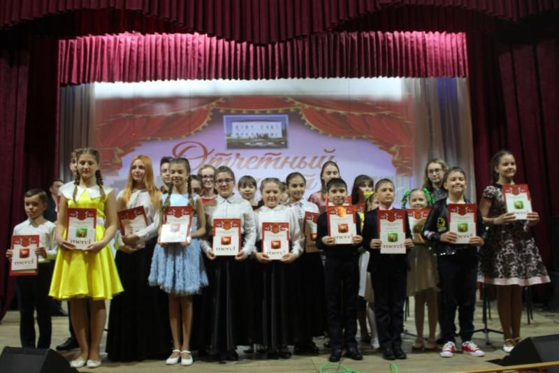 Отчетный концерт детской музыкальной школы