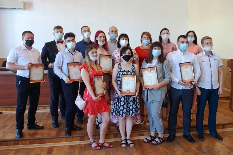 Торжественное награждение к Дню молодежи в Лебедяни