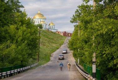 Кладбищенская гора в Лебедяни