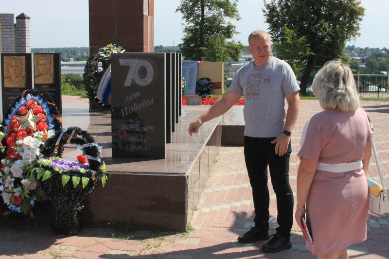 Эксперты Общероссийского народного фронта проверили состояние мемориала в Лебедяни