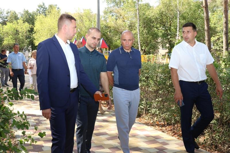 Губернатор Игорь Артамонов в Лебедяни