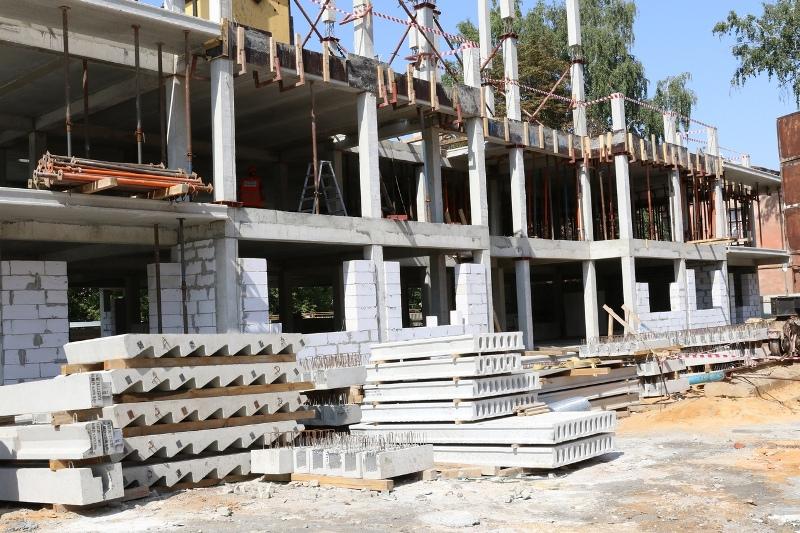 Строительство жилого дома на улице Машиностроителей в Лебедяни
