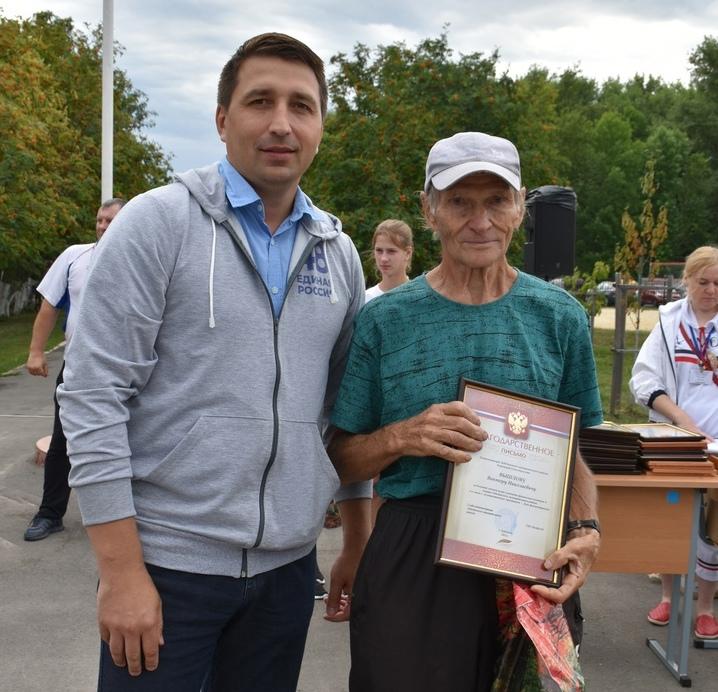 Фестиваль спорта к дню физкультурника в Лебедяни