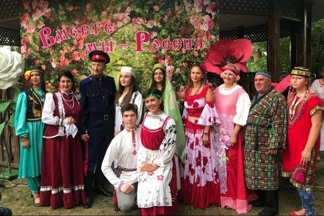Фестиваль национальных культур прошел в Лебедяни к Дню малой родины