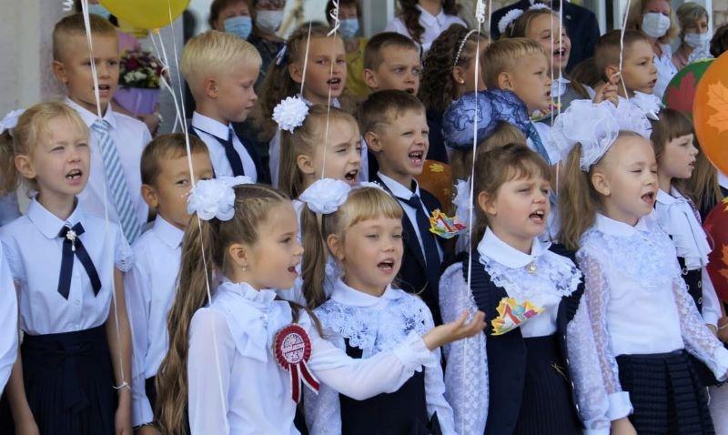День знаний 1 сентября в Лебедянском районе